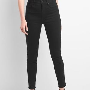 True Skinny Super High Rise GAP jeans